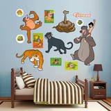 The Jungle Book Collection Wall Decal