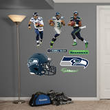 Russell Wilson Hero Pack Wall Decal