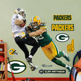 Clay Matthews Takes It On Wall Decal