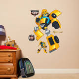 Transformers Rescue Bots Bumblebee Wall Decal
