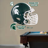Michigan State Spartans Helmet Wall Decal