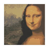 Mona Liza Giclee Print by John Zaccheo