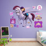 Sofia the First & Minimus Wall Decal