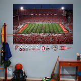 Ohio State Buckeyes Script Ohio Night Game Stadium Mural Wall Mural