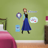 Disney Frozen - Anna Fathead Jr. Wall Decal