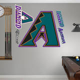 Arizona Diamondbacks Classic Logo Wall Decal