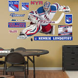 Henrik Lundqvist - Goaltender Wall Decal