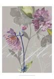 Violette Fleur II Prints by Kiana Mosley