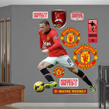 Wayne Rooney Wall Decal