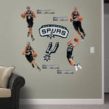 San Antonio Spurs Power Pack Wall Decal