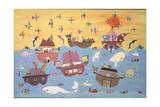 Noah's Ark I Wydruk giclee autor David Sheskin