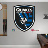 San Jose Earthquakes Logo Wall Decal