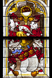 Germany, Cologne, Cologne Cathedral, North Aisle, Stained Glass  Window, Nativity of Christ  Window Photographic Print by Samuel Magal