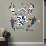 Oklahoma City Thunder Power Pack Wall Decal