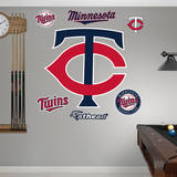 Minnesota Twins Alternate Logo Wall Decal
