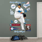 Hyun-Jin Ryu Wall Decal