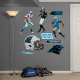 Cam Newton Hero Pack Wall Decal