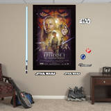 Star Wars Episode I: The Phantom Menace Movie Poster Mural Wall Mural