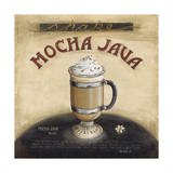 Mocha Java Giclee Print by Lisa Audit