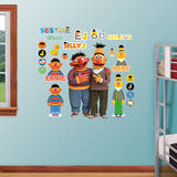 Bert & Ernie Wall Decal