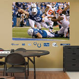 Andrew Luck Playoff TD Dive Mural Wall Mural