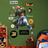 Michelangelo - TMNT Movie Wall Decal