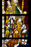 Germany, Cologne, Cologne Cathedral, North Aisle, Stained Glass Window, St. Peter and Tree of Jesse Photographic Print by Samuel Magal