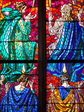 Prague, St. Vitus Cathedral, Southern Aisle, Chapel of St Ludmila, Stained Glass Window Photographic Print by Samuel Magal