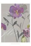 Violette Fleur I Print by Kiana Mosley