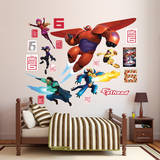 Big Hero 6 Collection Wall Decal