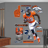 Montee Ball Wall Decal