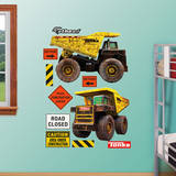 Tonka TS4000 Dump Truck Duo Wall Decal