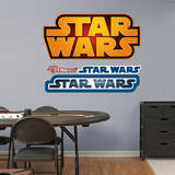 Star Wars Logo Wall Decal