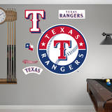 MLB Texas Rangers 2014 Logo Wall Decal