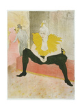 La Clownesse Assise from Elles Giclee Print