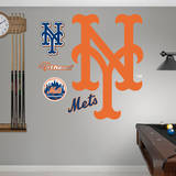New York Mets Alternate Logo Wall Decal