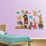 Peter Rabbit Collection Wall Decal