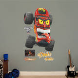 Monster Jam: El Diablo Wall Decal