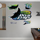 Tampa Bay Rays Classic Logo Wall Decal