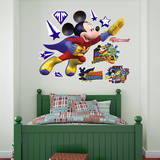 Mickey Mouse - Super Adventure Wall Decal