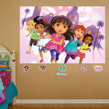 Dora & Friends Mural Wall Mural