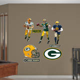Aaron Rodgers Hero Pack Wall Decal