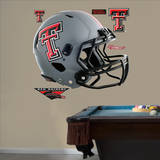 Texas Tech Red Raiders Gray Helmet Wall Decal