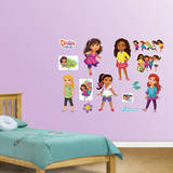 Dora & Friends Collection Wall Decal