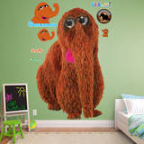 Snuffleupagus Wall Decal
