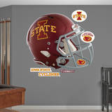Iowa State Cyclones Helmet Wall Decal