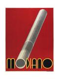 Modiano Cigs Red Italian Giclee Print