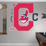 Cleveland Indians Logo Wall Decal
