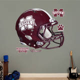Mississippi State Bulldogs Helmet - Maroon Wall Decal