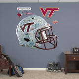 Virginia Tech Hokies Stone Helmet Wall Decal